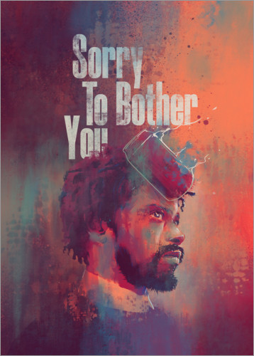 Plakat Sorry To Bother You
