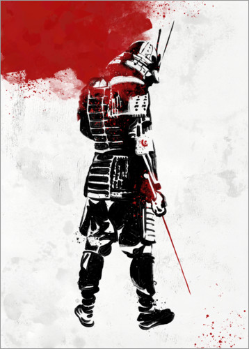 Plakat Samurai Warrior