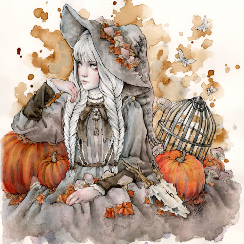 Plakat The Gray Witch