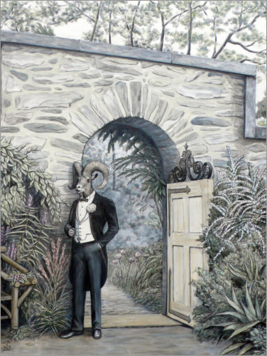 Plakat Groom at the gate