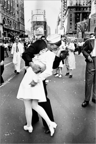 Plakat V-Day in Times Square (The Kiss)