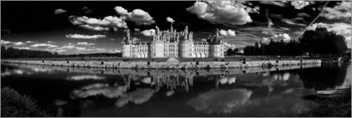 Plakat Castle Chambord in the Loire Valley, France