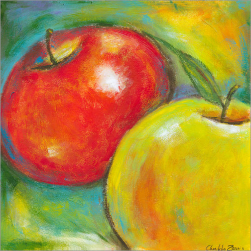 Plakat Abstract Fruits - Apple IV