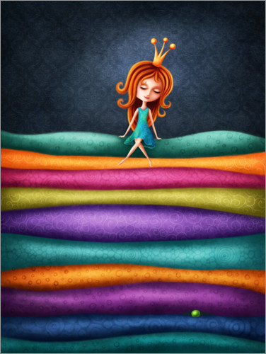 Plakat The Princess and the Pea