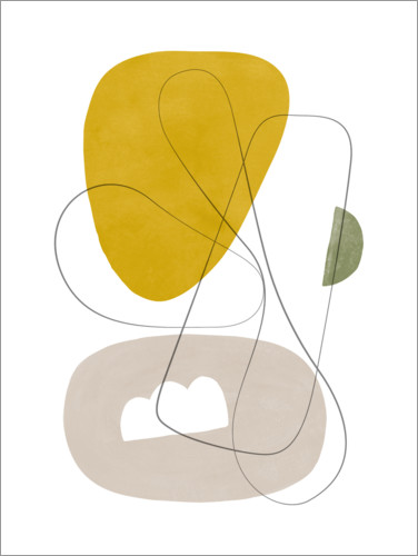 Plakat Abstract Composition I
