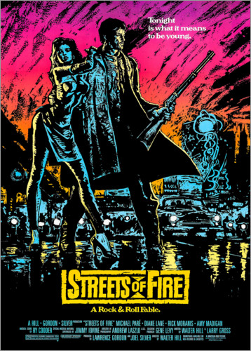 Plakat Streets of Fire