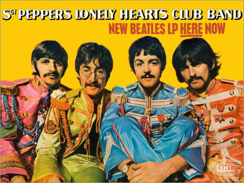Plakat Sgt. Pepper's Lonely Hearts Club Band