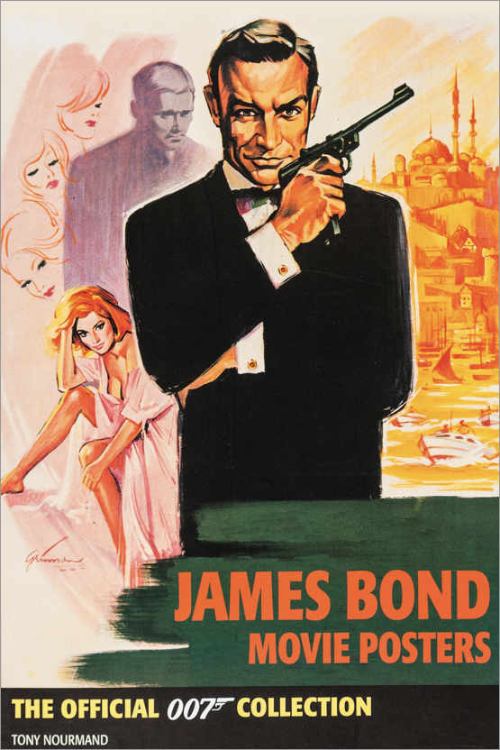 Plakat James Bond Collection