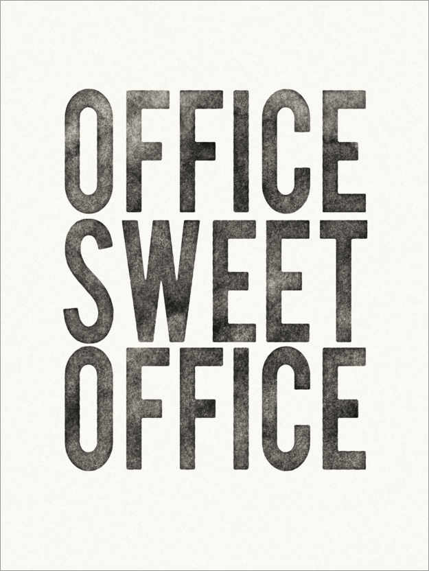 Plakat Office Sweet Office