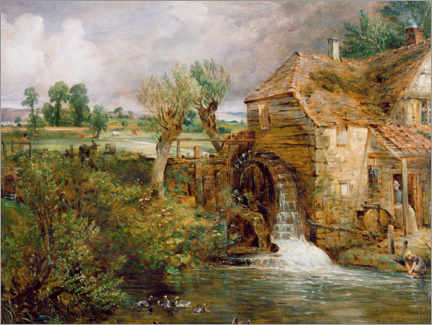 Gallery print  Mill in Gillingham - John Constable