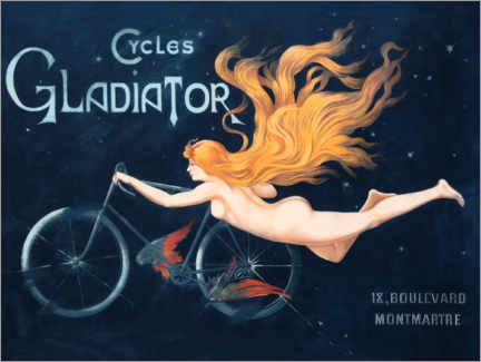 Obraz na płótnie  Cycles Gladiator - Georges Massias