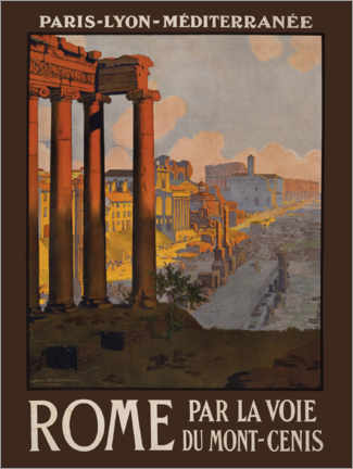 Plakat  Rome - Travel Collection