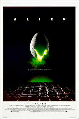Naklejka na ścianę  Alien - Entertainment Collection