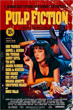 Obraz na płótnie  Pulp Fiction (angielski) - Entertainment Collection