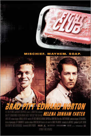 Obraz na płótnie  Fight Club - Entertainment Collection