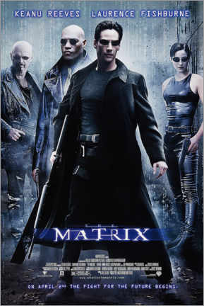 Obraz na płótnie  The Matrix (English) - Entertainment Collection