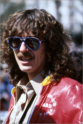 Obraz na drewnie  George Harrison, Long Beach Grand Prix, 1978