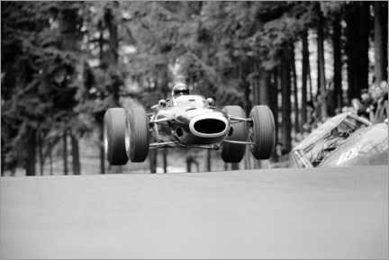Obraz na płótnie  Jackie Stewart at Brunnchen, Nürburgring, German GP 1966
