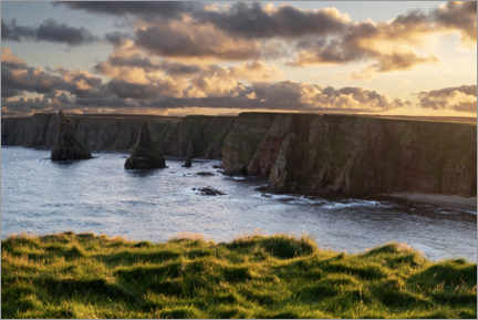 Gallery print  Cliffs in the sunset - The Wandering Soul