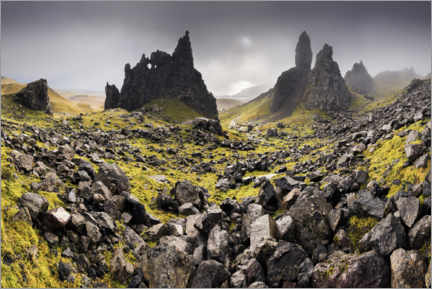 Plakat The Old Man of Storr in autumn