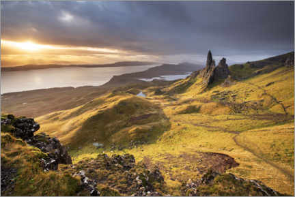 Plakat  The Old Man of Storr at sunrise - The Wandering Soul