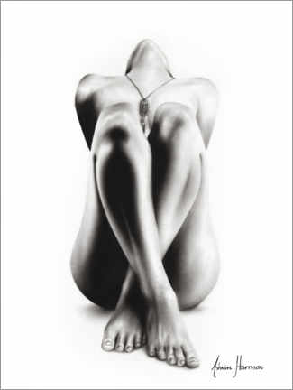 Plakat Realistic nude drawing