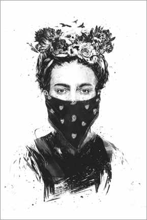 Gallery print  Rebel Frida - Balazs Solti