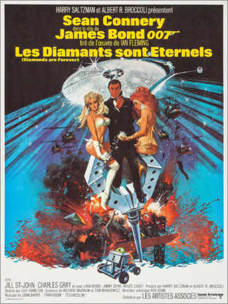 Plakat Diamonds Are Forever (French)