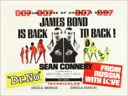 Plakat James Bond is back!