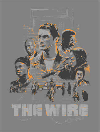 Plakat The Wire