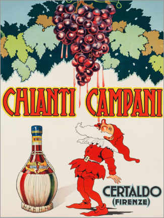 Obraz na płótnie  Chianti Campani - Advertising Collection