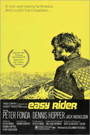 Obraz na płótnie  Easy Rider - Entertainment Collection