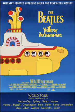 Plakat  The Beatles - Yellow Submarine - Entertainment Collection