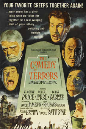 Plakat The Comedy of Terrors