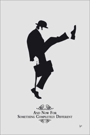 Plakat  Ministry of Silly Walks - chungkong