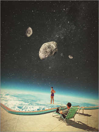 Plakat Summer with a Chance of Asteroids
