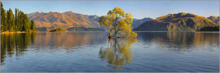 Obraz na płótnie  Lake Wanaka at sunrise - Markus Lange