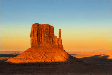 Plakat Monument Valley at sunset