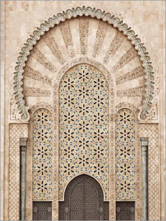 Gallery print  Hassan II Mosque in Morocco - Art Couture