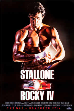 Plakat  Rocky IV - Entertainment Collection