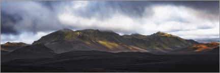 Gallery print  The vastness of the highlands - André Wandrei