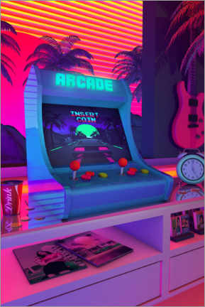 Plakat Arcade Dreams