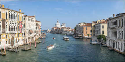 Plakat Grand Canal in summer