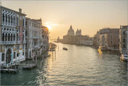 Plakat Grand Canal at sunrise