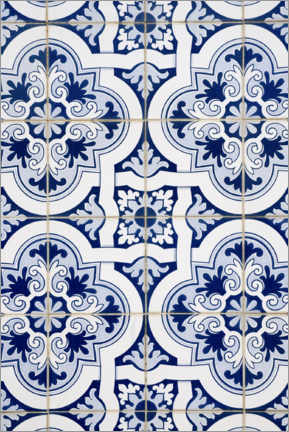 Obraz na aluminium  Delft blue decor
