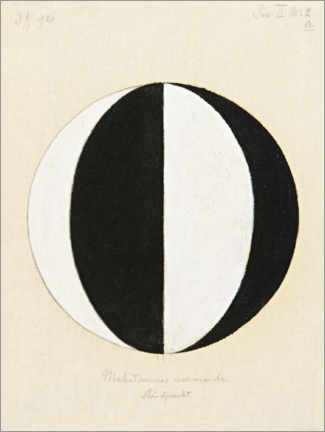 Obraz na aluminium  The Mahatma's current point of view - Hilma af Klint