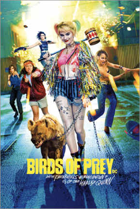 Plakat  Harley Quinn - Birds of Prey
