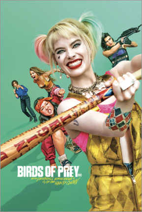 Plakat  Birds of Prey - Harley Quinn (2020)