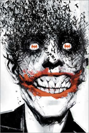 Plakat  The Joker Crazy Face