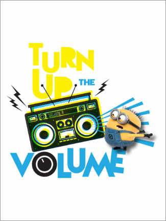 Plakat  Minions - Yellow sound